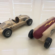Auto Union Type D and Hot Dog