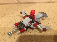 Mini spaceship build with lots of weapons