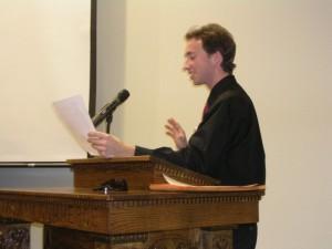 Jonathan Taylor teaching