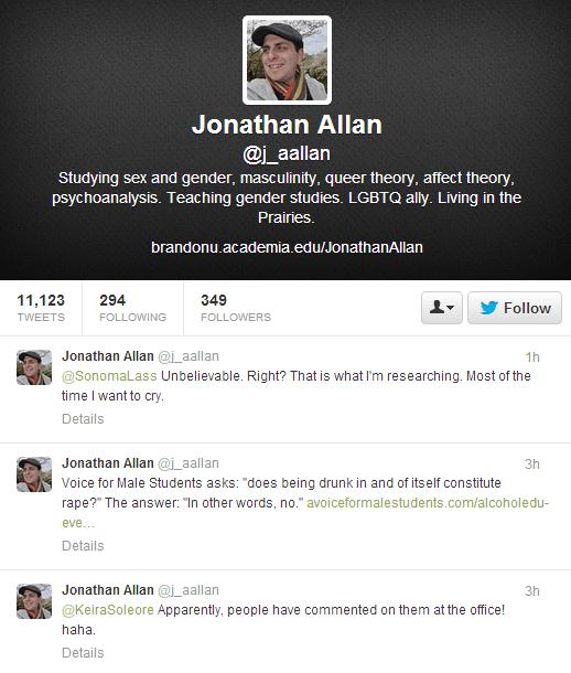 Jonathan Allan twitter