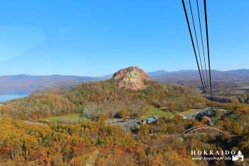 北海道有珠山纜車|6分鐘登高昭和新山、洞爺湖、火山地形看到飽