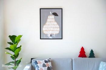 居家布置|日系北歐風格的掛畫及家飾品分享
