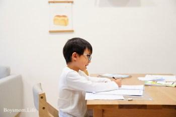 取代書房的客廳學習角落|心安定了專注力自然跟著來