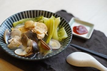 【台味料理】會回甘的大人味芥菜雞湯