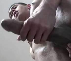 SoloBoys | Ace, o hétero pauzudo em vídeo solo na punheta