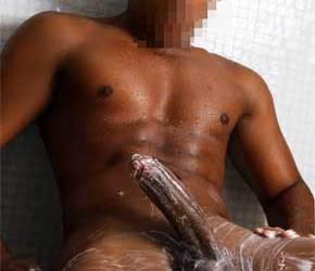 Escort Boy | Alan, o baiano dotadaço