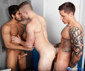 Fucking in the gym | Diego Sans, Jake Andrews & Jordan Levine