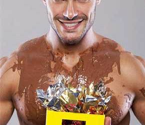 Felipe Alencar é puro chocolate