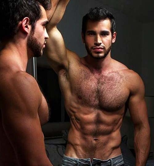 homem peludo peludo viril