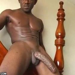 Black Monster Cock | Rasta Mansta exibindo um picão grosso e veiudo