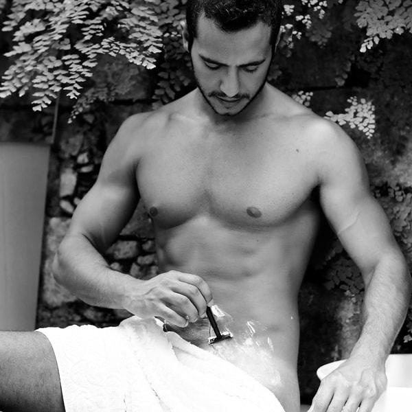Matheus bbb depilando o pau penis ensaio 5