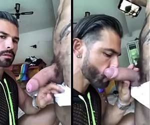 Barbudo ataca pica dura do ex-pornstar - Amador