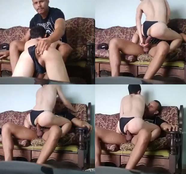 sexo anal barebck padastro filhao