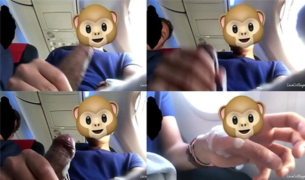 spycam gay batendo punheta poltrona aviao