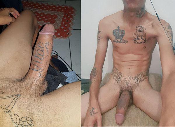 boy pau tatuado brazilian monster cock