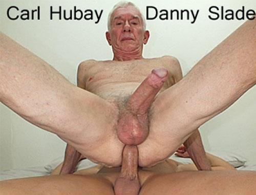 Carl Hubay velho dando cu
