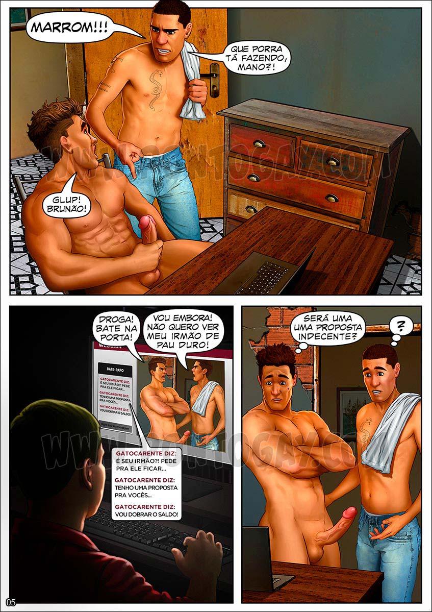 historia gay HQ cartoon