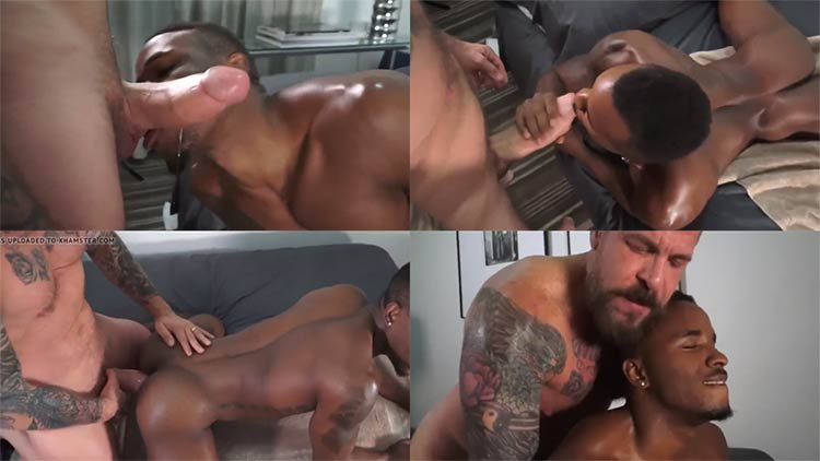 Rocco Steele gay porn bareback black boy