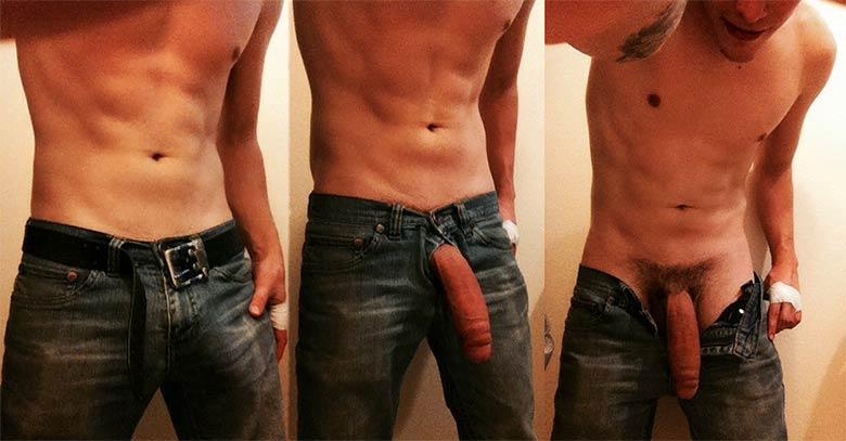steven cavalao pau mole monstruoso calça jeans