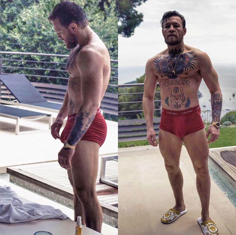 Conor McGregor manja rola boxeador dotado