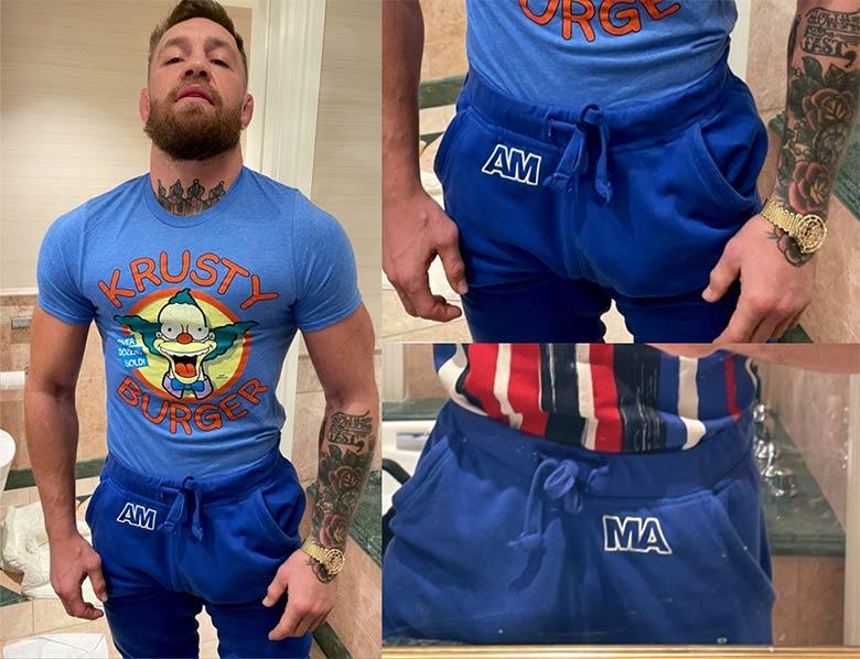 Conor McGregor pauzao pesado
