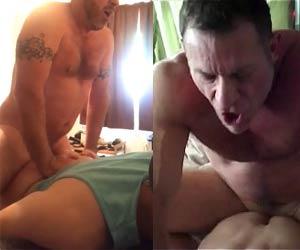 Filmou porno gay com daddy gostoso
