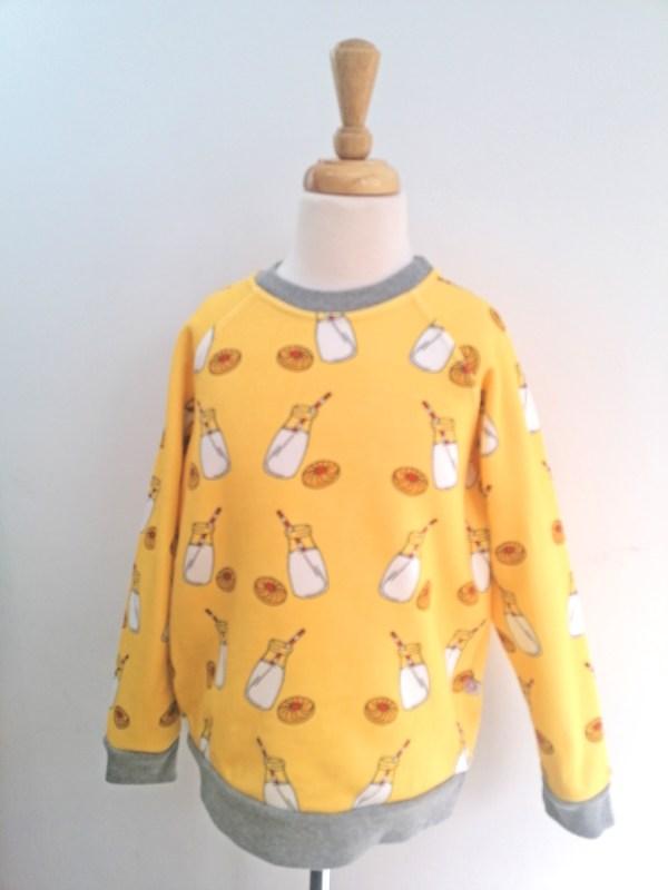 Boy wonder milk sweatshirt - preloved