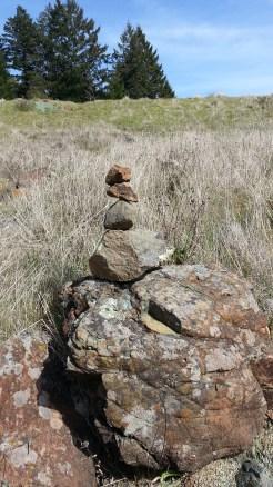 I love coming across rock stacks like this. :)