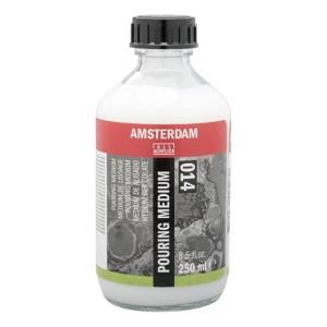 Pouring medium. Flacon de 250 ml Amsterdam