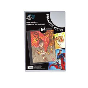 Art & Go. Pochette de protection A4. Lot de 10.