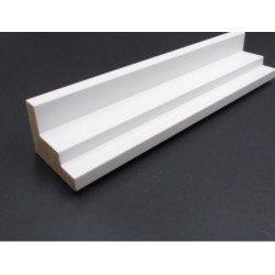 Cadre Caisse Américaine blanche escalier 45×35 mm