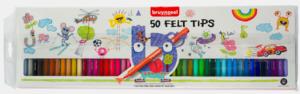 Bruynzeel Pochette plastique de 50 feutres