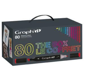 Graph'it Coffret de 80 marqueurs