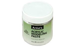 Acrylique Modeling Paste Phoenix. Pot de 500 ml.