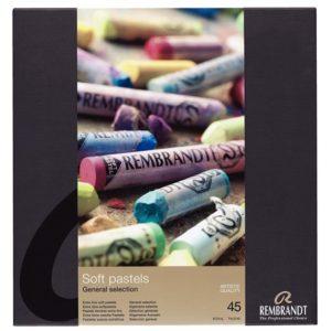 "Coffret 45 Pastels Rembrandt Tendres Set ""Traditional"""
