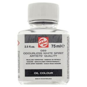 Diluant Essence de Pétrole Inodore Talens 089 Flacon 75 ml