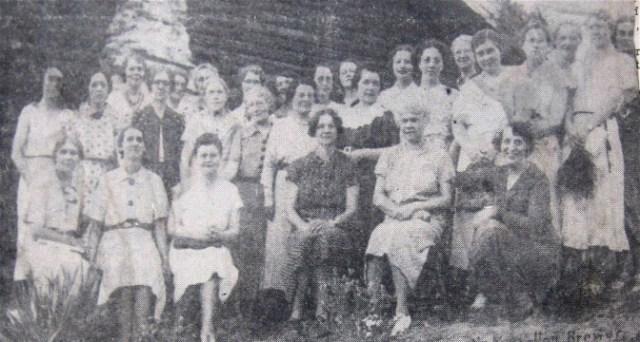 Bozeman BPW Members 1936 - Cropped
