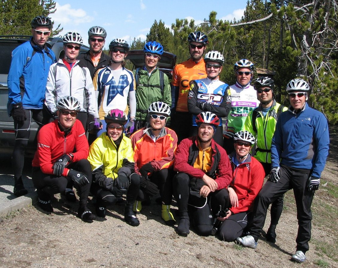 2009 Triton Triathlon Camp with USA Olympic Coach Michelle Blessing