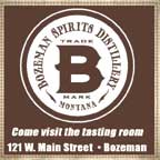 In Late october 2017 at Bozeman Sprirts Russ Chapman, Edis Kittrell at Bozeman Spirits