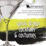 Emerson hosts annual evening of spooky, artsy adult fun- Saturday, October 28th from 7pm