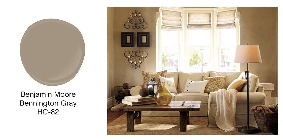 Bennington Grey Living Room