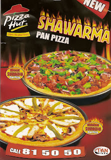 Shawarma Pan Pizza