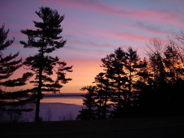 Retreat sunset at Galilee, Arnprior, Ontario