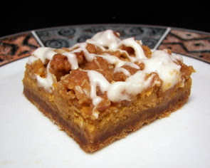 Gingerbread Pumpkin Bars