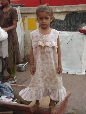 indian street girl