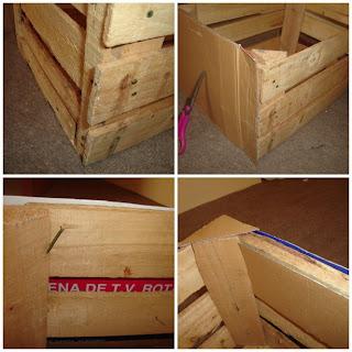 Reutilizar una caja de fruta my weblog - Como decorar reciclando ...