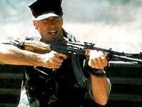 El sargento de artillería Highway