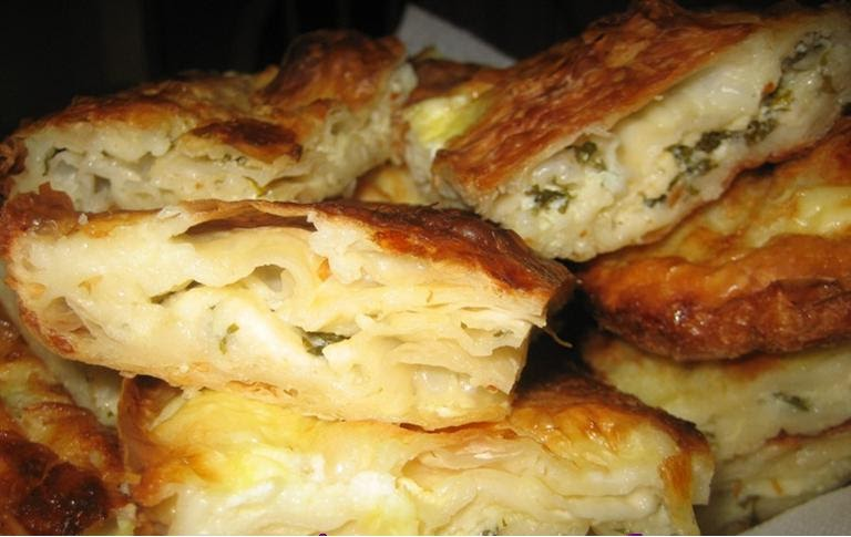 I Love Turkish Food Peynirli Borek Cheese And Parsley