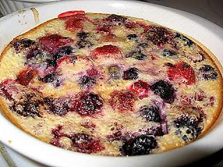 Clafoutis of Berries | KALOFAGAS | GREEK FOOD & BEYOND