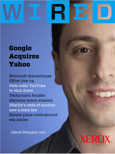 Wired Magazine Cover Story- Google Acquires Microsoft